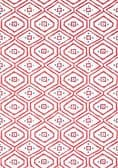 Thibaut Pass-a-Grille Wallpaper in Red